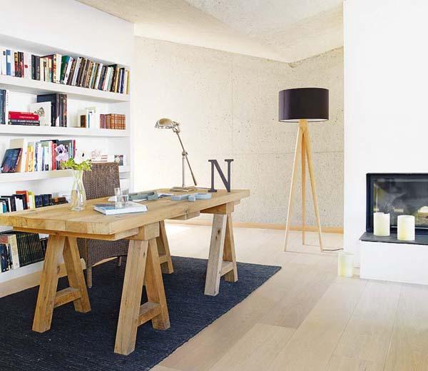 Soft stile летнего домика от испанских дизайнеров