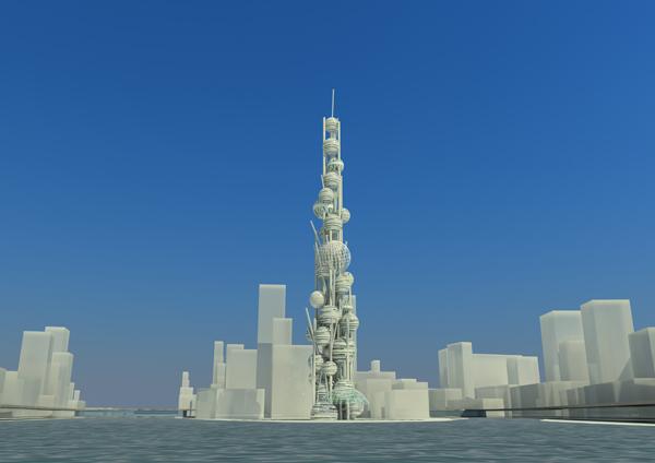 Проект небоскреба Sphereplex от Карена Берберян (Karen Berberyan)