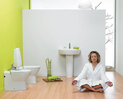 Spring Bath Decor – весенняя ванная комната от Sanindusa