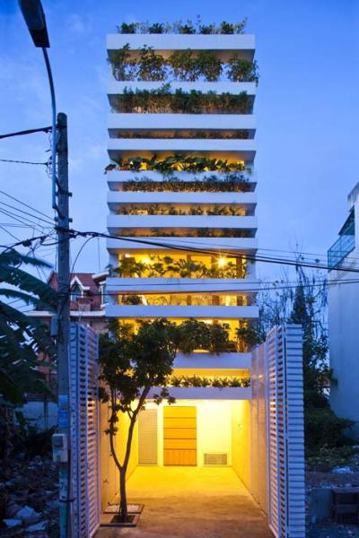 Stacking Green – дом-сад от Vo Trong Nghia