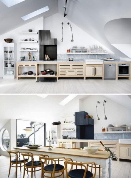 Квартира-студия швдского удожника, расположенная в Стокгольме