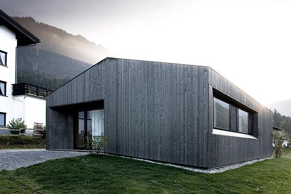Жилой дом Small Home от Sven Matt Австрийских Альпах