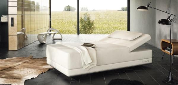 Sway - кровать для кратковременного оздаравливающего сна от Klafs