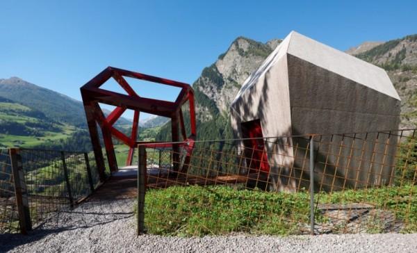 Timmelsjoch Experience – музей в Восточных Альпах от Tscholl Architects
