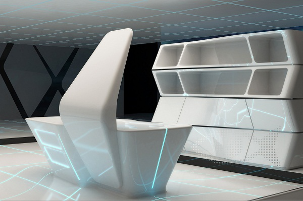 Коллекция нтерьеров «TRON designs Corian®»