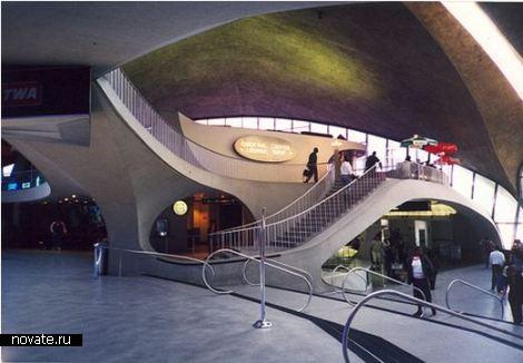 TWA Terminal at JFK International Airport. Бессмертная классика футуризма