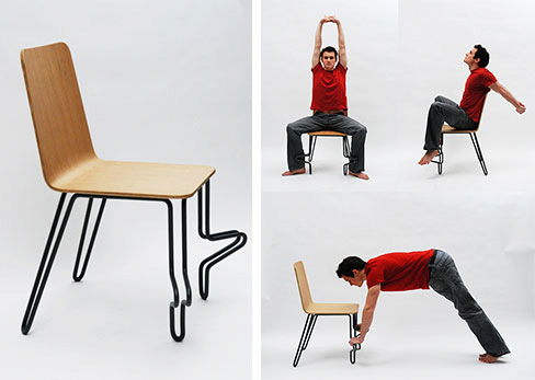 Tai Chi Chair - стул от Ecole Superieure d'Art de Design De Reims