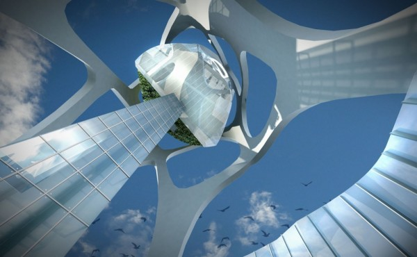Проект для конкурса Taiwan Tower International Design Competition от Little