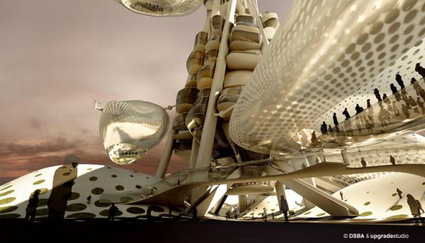 Проект-победитель конкурса Taiwan Tower Conceptual Design Compeitionв в Тайване
