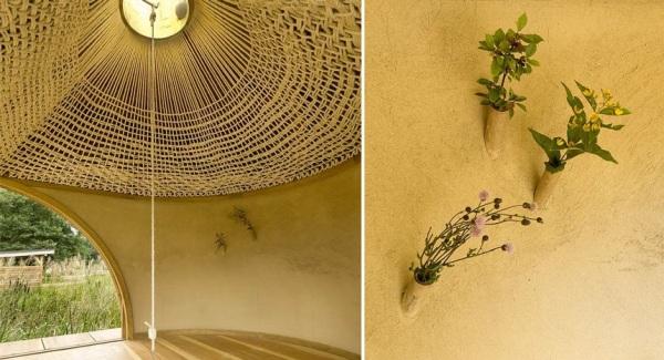 Медитативный чайный домик Black Teahouse от A1Architects