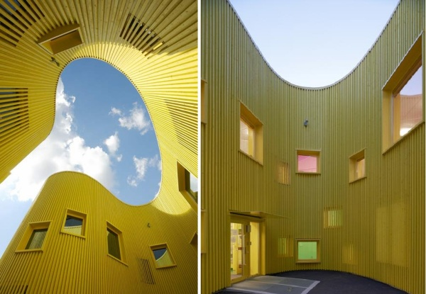 Tellus Nursery School -  детский сад  от Tham and Videgard Arkitekter в Стокгольме