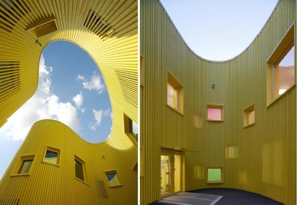 Tellus Nursery School -  детский сад  от Tham and Videgard Arkitekter в Стокгольме