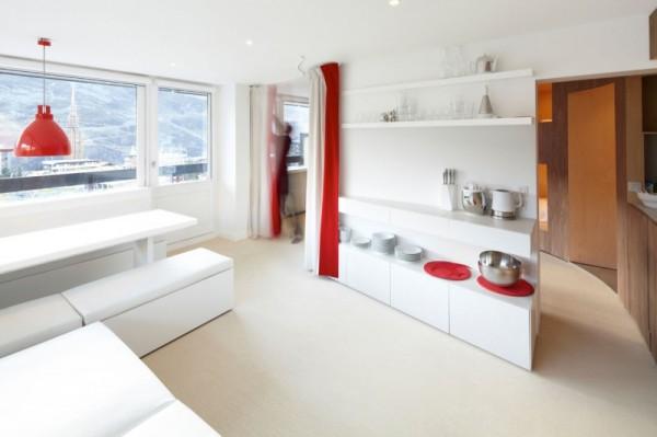 The Cabin – квартира, спроектированная вокруг мебели