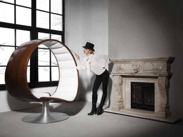 The Hug Chair - кресло от Габриэллы Азталос (Gabriella Asztalos)