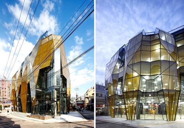 Торговый центр Yellow Diamond в Сеуле (Республика Корея)