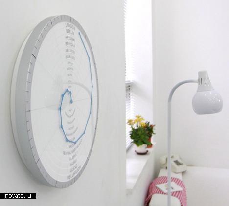 Часы Front & Back от Giha Ву и Shingoeun