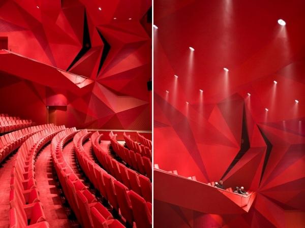 Театр Agora Theatre от UNStudio в Нидерландах