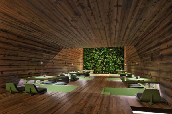 Цифровой дизайн мексиканского ресторана Tori Tori Restaurant от Rojkind Arquitectos и Esrawe Studio
