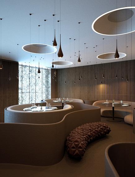 Ресторан Twister от студии SERGEY MAKHNO