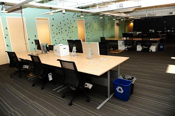 Офис компании Twitter в Сан-Франциско