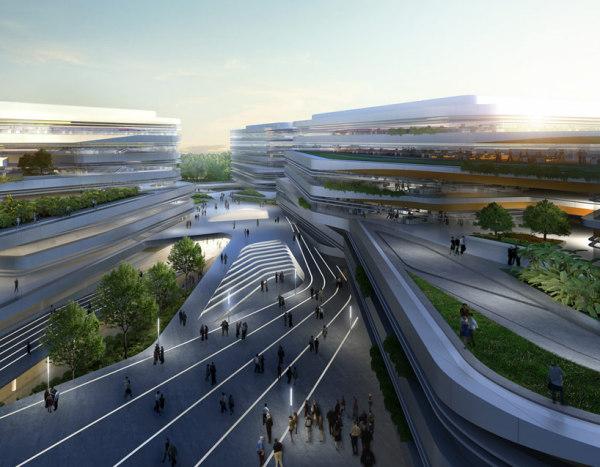Проект сингапурского университета SUTD от UNStudio