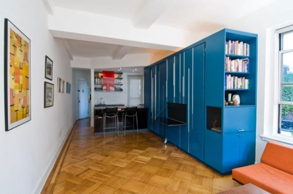 Шкаф-трансформер в нью-йоркской квартире от Normal Projects