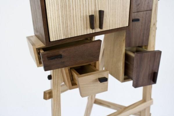 Unorganized Cabinet - мебель от от Колина Тури (Colin Tury)