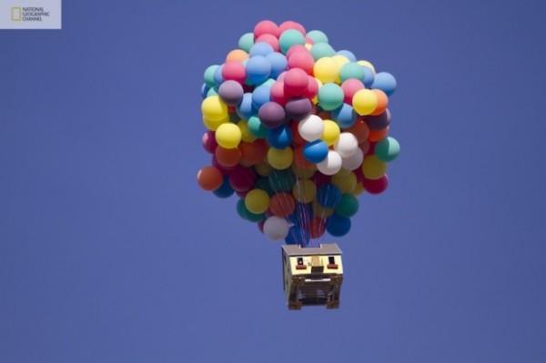 Полетна возушном шаре от National Geographic