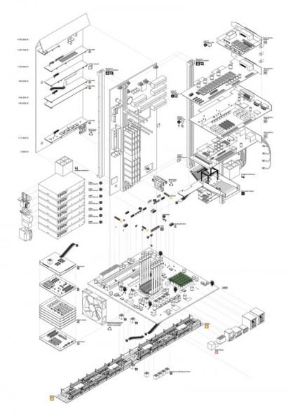 Urban Archives – урбанистический проект развития инфраструктуры для Токио