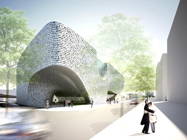 Urban Block - здание будущего от немецких архитекторв