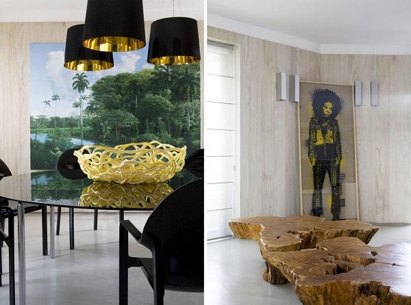 Интерьеры квартиры Urban Forest Interior от Fabio Galeazzo