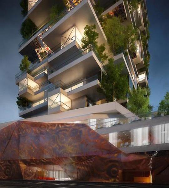 Urban Village – вертикальная деревня в городе от Brenac+Gonzalez