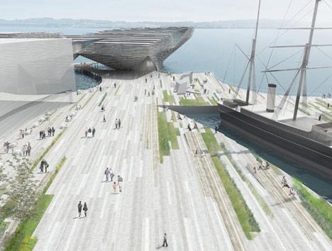 Проект нового музея V&A Museum от Кенго Кума (Kengo Kuma) в Шотландии