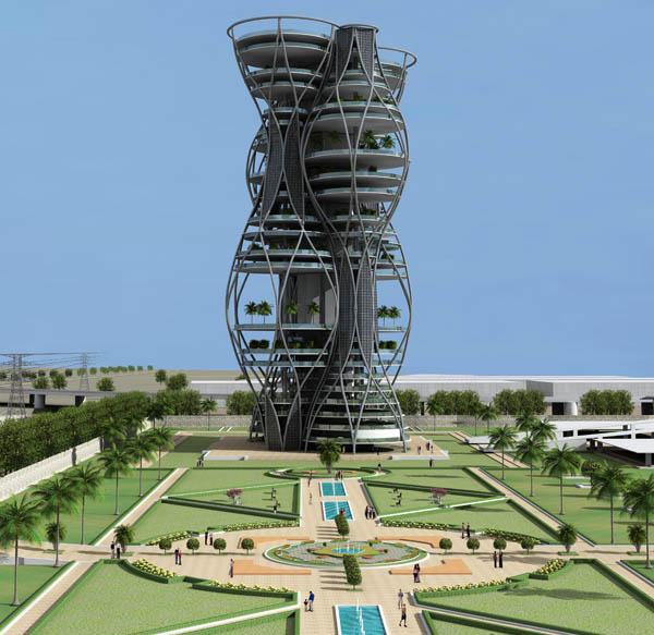 Vertical Necropolis – вертикальное кладбище для индийской столицы