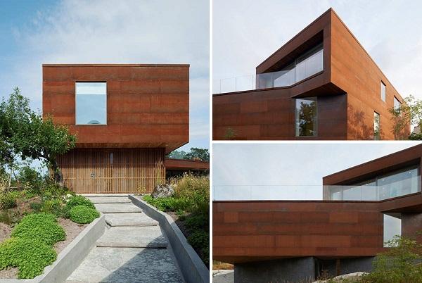 Villa Midgard - жилой дом от DAPstockholm в Швеции
