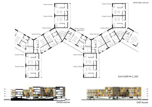 Проект жилого комплекса Village in the Air от Epitesz Studio