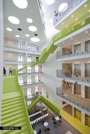Реконструированный Vitus Bering Innovation Park в Дании