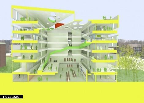 Проект реконструкции Vitus Bering Innovation Park в Дании
