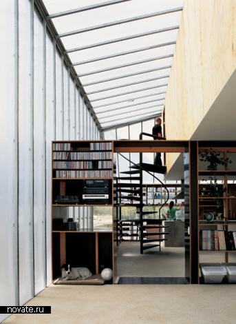 Жилой дом ом Wall House в Чили