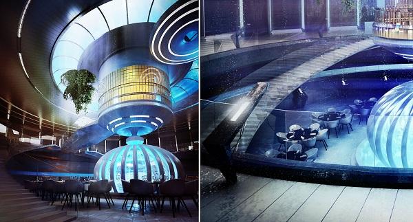 Water Discus Underwater Hotel – футуристический подводный отель в Дубае