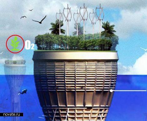Проект плавающего подводного города