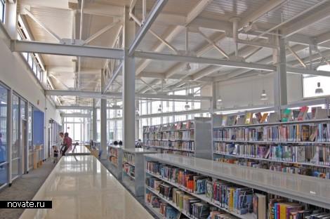 «Стеклянная» библиотека от Davis Brody Bond Aedas в Вашингтоне