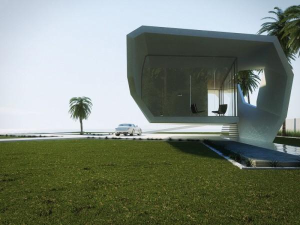 Wave House – футуристический загородный дом выходного дня в Турции