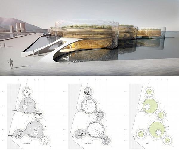 Выставочный комплекс от AQSO Arquitectos
