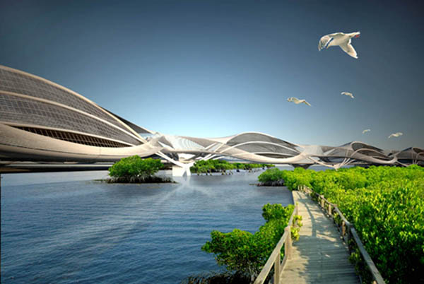 Эко-проект Wetropolis от S+PBA для Бангкока (Таиланд)