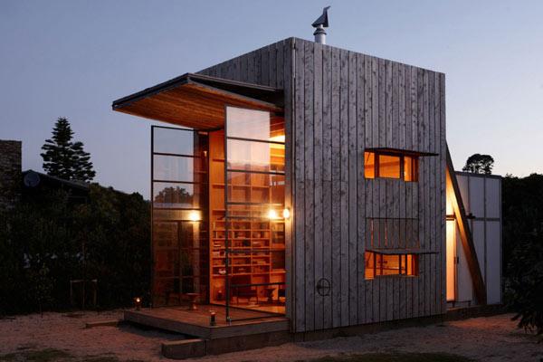 Whangapoua - умный и простой дом, построенный по проекту архитектурной студии Crosson Clarke Carnachan на полуострове...
