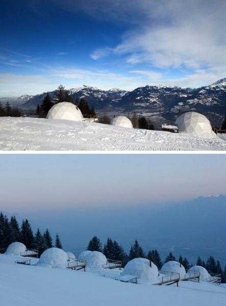 WhitePod Alpine Ski Resort - горнолыжный курорт в Швейцарских Альпах