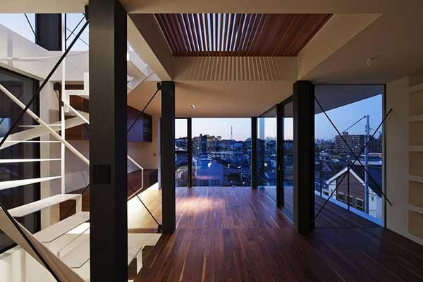 White Home - жилой дом от Apollo Architects and Associates в Токио (Япония)