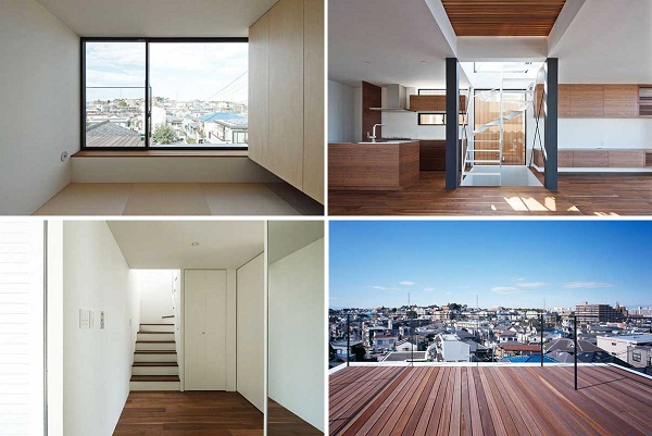 White Home - жилой дом от Apollo Architects and Associates в Токио (Япония)