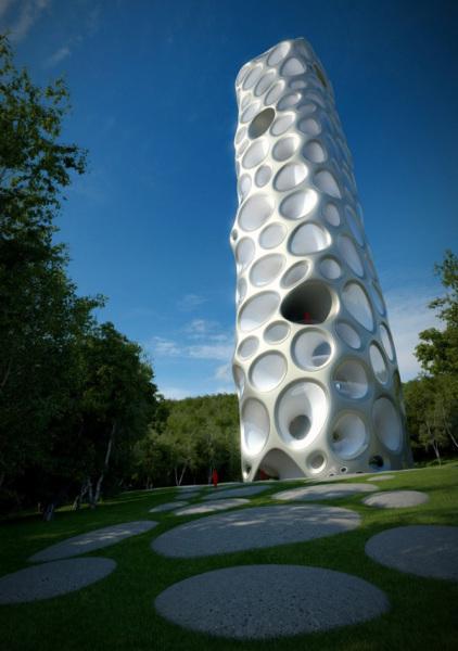 Проект музея чилийских вин Wine Museum от DRAandU